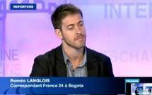 Colombie: un correspondant de France 24 porté disparu avec cinq Colombiens après une attaque des FARC