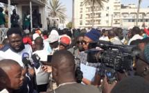 Marche #ÑooLank de ce vendredi: Aliou Sall «malmené» par les manifestants