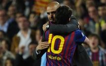 Barcelone: Messi fait ses adieux à Guardiola