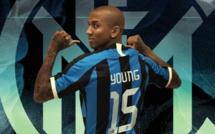 #Mercato - Ashley Young signe à l'Inter Milan