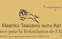 """""""Mànkoo Taxawu sunu Apr"""" : Moustapha Diakhaté décline sa feuille de route et dit comment y adhérer"""