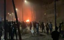 Vidéo - Ça dégénère à Saint-Louis où des jeunes brûlent le bâtiment qui abrite le siège de l'OMVS