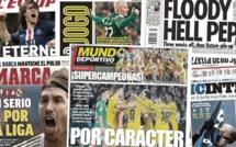 Le Barça et le Real se rendent coup pour coup, grosse inquiétude à Manchester City