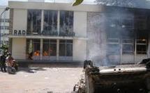 Mali: une radio appartenant à un parti politique pro-putsch incendiée
