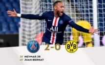 #LDC: Le PSG mène 2 buts à 0 à la pause face au Borussia Dortmund