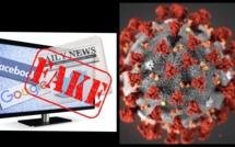 Les diffuseurs de fausses nouvelles sur le coronavirus encourent jusqu'à 3 ans d'emprisonnement