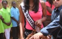 Tournée Africaine de Leila Lopes : Miss Univers encourage l'image d'une Afrique gagnante
