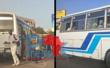 #Coronavirus - La police met aux arrêts deux minibus « Tata » pour surcharge au rond-point Liberté 6