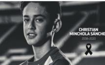 L'Atlético de Madrid pleure ce samedi la mort de l'un de ses tout jeunes joueurs