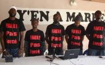 Anniversaire du M-23 : Y'en a marre prie pour que Wade soit chef de chambre à Rebeuss (prison)