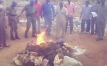 Lutte contre les drogues au Sénégal: une importante quantité incinérée aux Mamelles