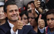 Mexique: le candidat du PRI Enrique Peña Nieto remporte la présidentielle