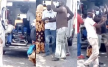 Non ! L'ambulance interceptée ne transportait pas des passagers mais les membres du corps médical