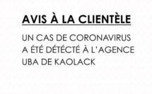 Kaolack: un employé de UBA Sénégal testé positif au Coronavirus