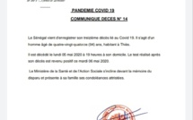 Dernière minute -   le Sénégal vient d'enregistrer son treizième décès lié au coronavirus