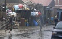 Sédhiou : la première forte pluie de l'hivernage emporte des centaines de millions de FCFA
