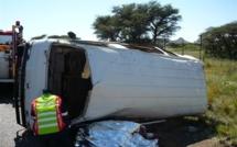 Route de Saint Louis: un accident fait deux morts