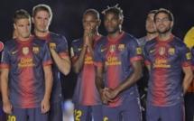 Liga-Barcelone: Abidal revient en douceur