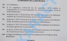 Présidence honoraire Cese: Yakham Mbaye brandit un soi-disant vrai document et menace Bassirou Diomaye Faye de Pastef