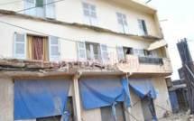 Gueule Tapée: le balcon de l'immeuble des étudiants de Pire s'effondre