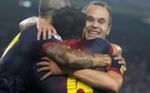 Liga-bataille à distance: le Barça repousse le Real à onze points