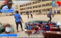 Réouverture des classes au Sénégal : un taux de présence de 90% noté au lycée Seydina Issa Rohou Layi ex- LPA