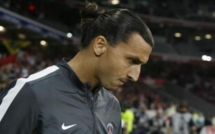 C1-PSG: Ibrahimovic, «pas au niveau»