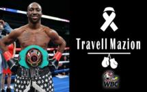 Travell Mazion, le boxeur américain invaincu, décéde dans un accident de voiture