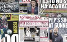 L'immortel Cristiano Ronaldo enflamme l'Italie, Pep Guardiola dézingue Arsenal