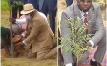 Journée nationale de l'arbre : le Président Macky Sall donne une leçon à son ministre Abdou Karim Sall (Vidéo)