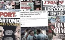 Neymar et Pep Guardiola draguent Leo Messi, le retour du Covid-19 fait trembler l'Europe