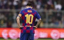 Le Barça utilise toujours l'image de Lionel Messi pour vendre ses maillots