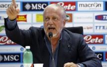 Naples: le président Aurelio De Laurentiis testé positif à la covid