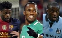 Afrique-Meilleur footballeur de l'année: qui de Drogba, Touré ou Song?