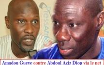 Débat sur le message du président de la République : Amadou GUEYE contre Abdoul Aziz DIOP via des mails
