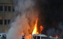 Touba : le marché Ocass en feu
