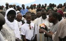 Cheikh Amar participe à la finalisation de la grande mosquée de Tivaouane