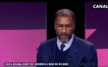 Habib Beye très ému sur le plateau de Canal+ après la disparition de Pape Bouba Diop