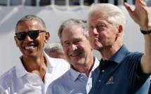 Covid-19: aux États-Unis, Obama, Bush et Clinton veulent se faire vacciner publiquement