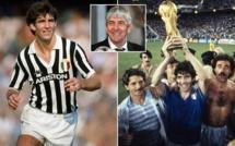 Italie: décès du footballeur Paolo Rossi, héros du Mondial 1982