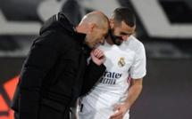 Real Madrid : Zidane proclame Karim Benzema meilleur attaquant de l'histoire du football français !