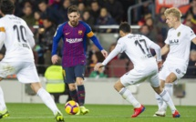 Liga: le Barça tenu en échec sur sa pelouse par le Valence, Messi s'en sort avec un record