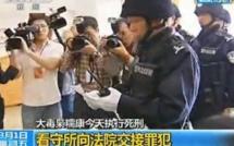 Chine: les «assassins du Mekong» exhibés à la télévision avant leur exécution