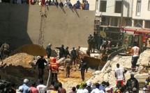 PHOTOS & VIDEOS DIRECT Ouakam : un immeuble s'effondre et fait un mort, des blessés encore sous les décombres