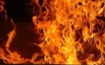 Encore un incendie : Un magasin du marché central de Rufisque prend feu