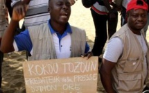 Au Togo, un sit-in de protestation de journalistes violemment réprimé