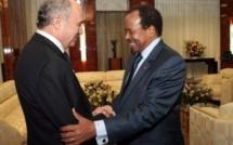 Au Cameroun, Laurent Fabius évoque le sort de la famille enlevée