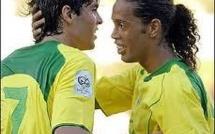 Brésil: Kaka et Ronaldinho bientôt réunis ?