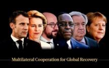 L'appel de Merkel, Macron, Sall, de l'ONU et de l'UE : « Bâtir un multilatéralisme plus solidaire face au Covid »