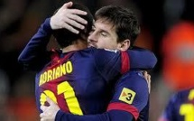 C1-Barcelone vs PSG: avec Adriano, sans Messi ?